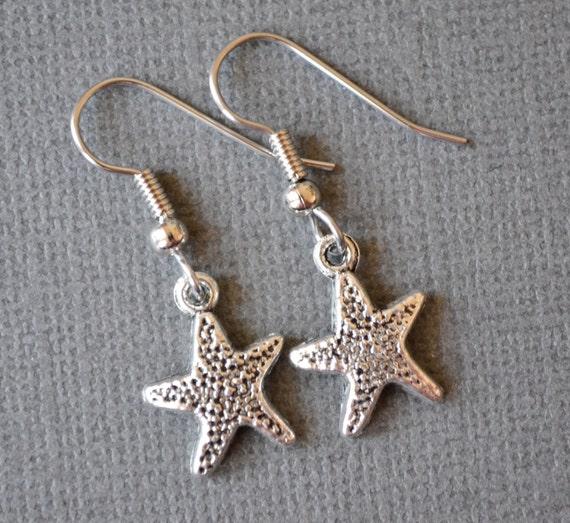 Starfish Charms . Earrings . Starfish Collection