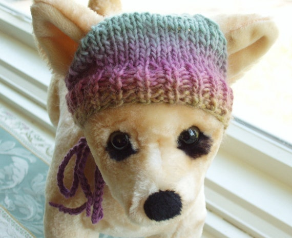 Chihuahua Dog Hat Hand Knit Cashmere SALE