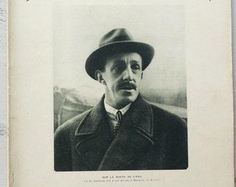 Vintage french newspaper L' ILLUSTRATION no.4599 / 25th of April 1931