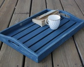 Handpainted, Shabby Chic, Upcycled Serving Tray