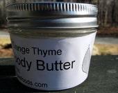 Orange Thyme Body Butter