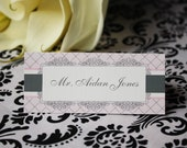 Printable Place Cards- Leah Collection