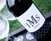 Printable Wine Bottle Label - Jordan Collection