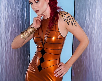 Jessica Latex dress