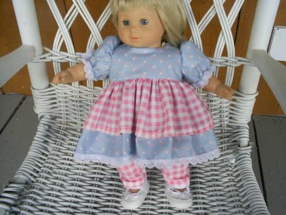 American girl bitty baby doll dress and  pants