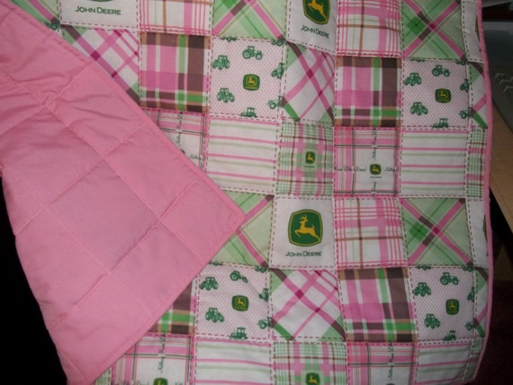 John Deere Bedding Pink Green Girl S Homemade Toddler