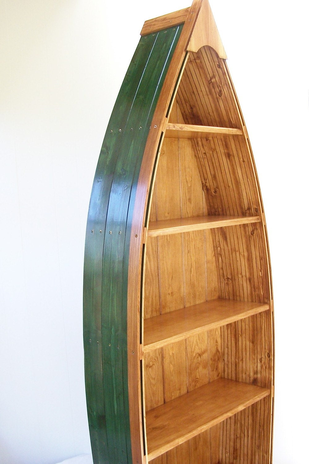 Wood Boat Bookshelf Plans