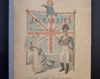 Antique Children's Book JACKANAPES Randolph Caldecott 1880s