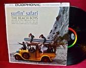 The BEACH BOYS - Surfin' Safari - 1962 Vintage Vinyl Record Album