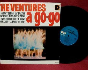THE VENTURES - 'a go-go - 1965 Vintage Vinyl Record Album