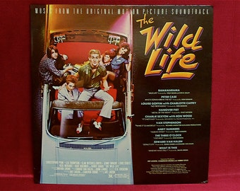 THE WILD LIFE - Original Motion Picture Soundtrack - 1985 Vintage Vinyl Record Album