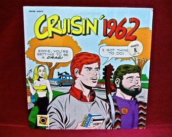 CRUISING' 1962 - 1970 Vintage Vinyl Record Album