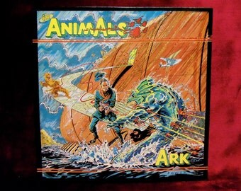 THE ANIMALS - Ark  - 1983 Vintage Vinyl Record Album...PROMOTIONAL Copy