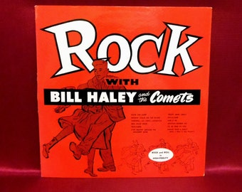 Bill HALEY and the COMETS - Rock with Bill Haley and the Comets - 1958 Vintage Vinyl Record Album