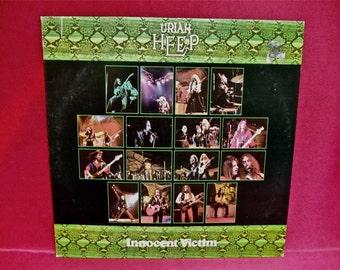 URIAH HEEP - Innocent Victim - 1978 Vintage Vinyl Record Album...PROMOTIONAL Copy
