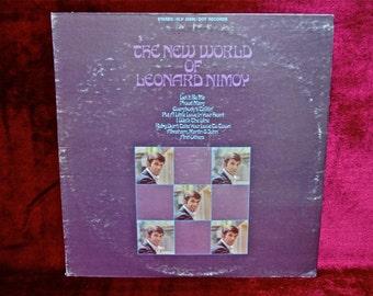 LEONARD NIMOY -The New World of Leonard Nimoy - 1969 Vintage Vinyl Record Album