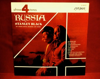 STANLEY BLACK and the London Festival Orchestra and Chorus - Russia - Vintage Vinyl GATEOLD Record Album