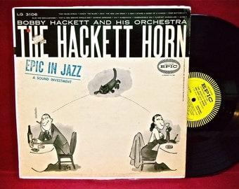 BOBBY HACKETT - The Bobby Hackett Horn - 1956 Vintage Vinyl Record Album