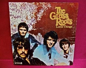THE GRASS ROOTS - Lovin' Things - 1969 Vintage Vinyl GATEfold Record Album