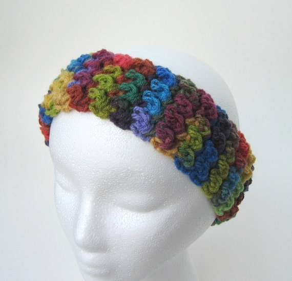 Crochet Patterns One Skein : Crochet Pattern Headband Earwarmers One Skein 1hour Super Easy ...