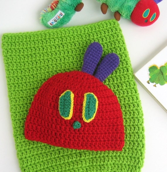 Items similar to Crochet Baby Hat - Very Hungry ...
