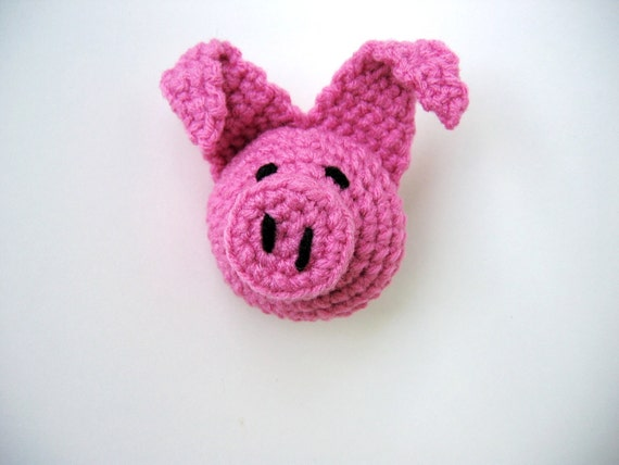 Flying Angel Pig Amigurumi Crochet Pattern : Crochet Pattern toy Flying Pig Amigurumi- PDF Tutorial ...