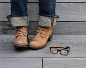r e s e r v e d vintage eye glasses turtle swank marco flex frame italy