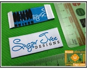 2400 end fold woven label