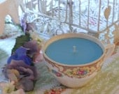 Vintage China Teacup Candle - Free Gift With Purchase