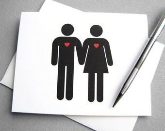 Printable Valentine Card. Wedding Card. Digital Valentines. Valentine's Day Card. Instant Download. Valentine Card for Him or Her.