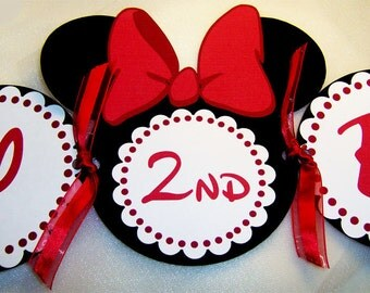 Minnie Mouse Birthday Package in Red