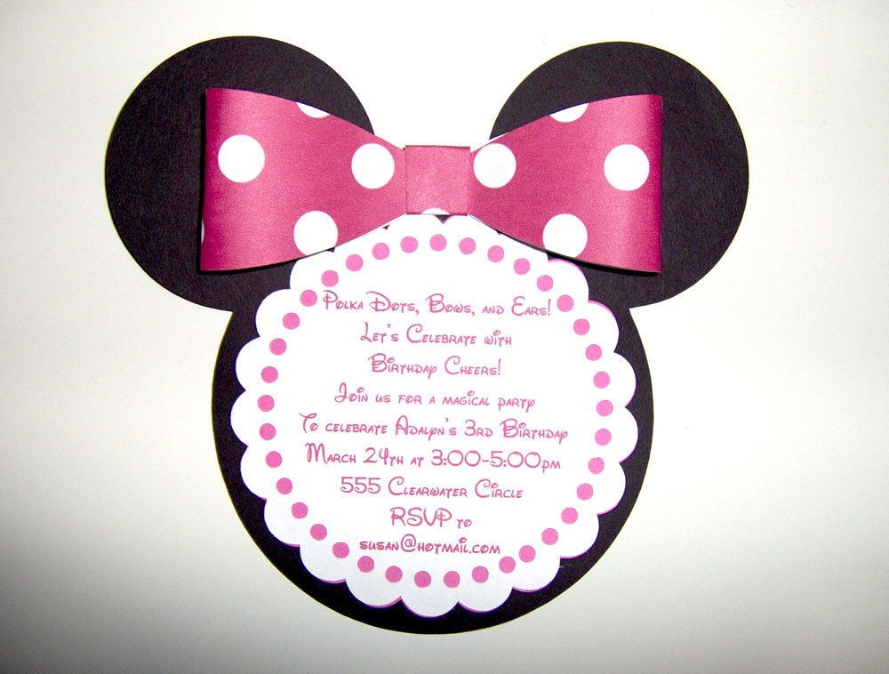 Mickey Mouse Clubhouse Invites was good invitation example