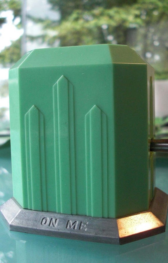 Bakelite Deco Game With Mechanical Device, Original Box, 1920s
