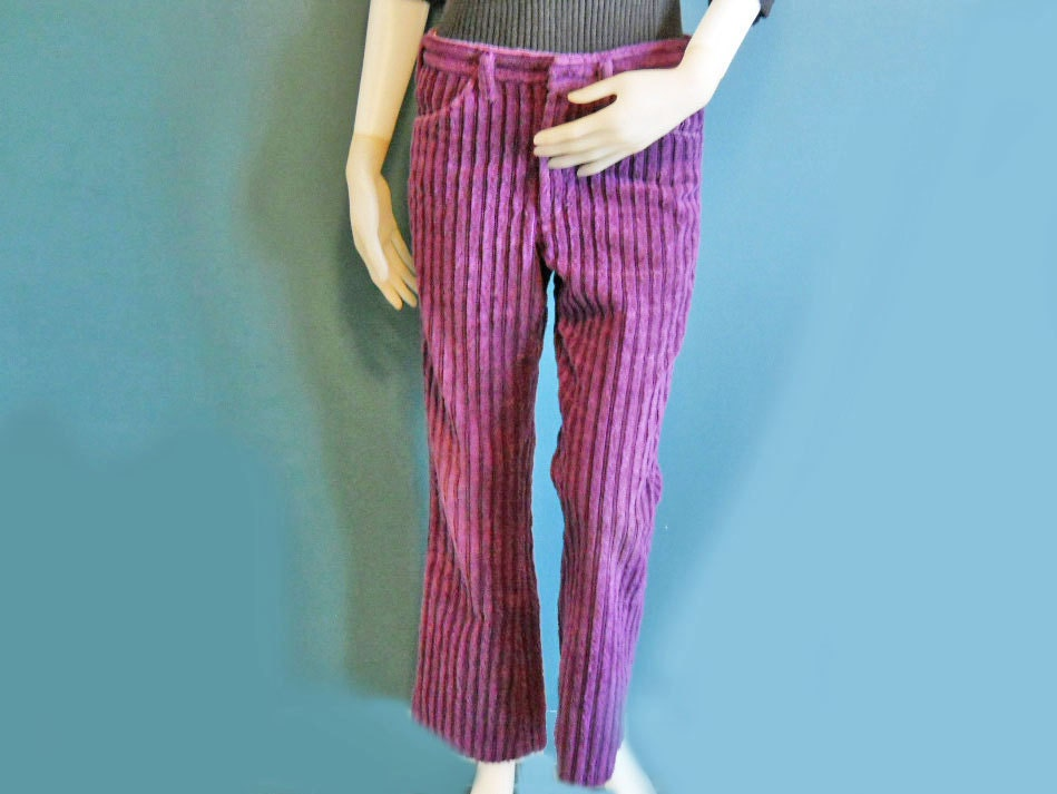 wide wale corduroy pants women - Pi Pants