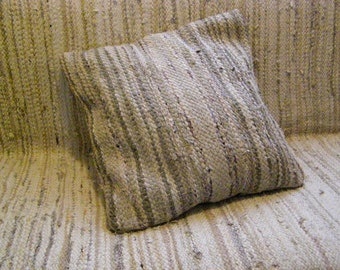 Handwoven rag rug - decorative pillow MADE O ORDER
