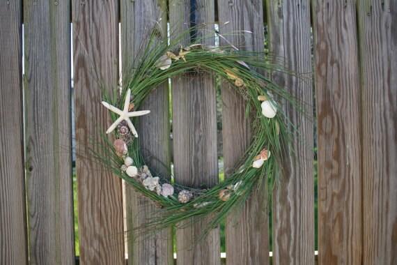 Seaside Shell Wreath