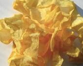 Vintage Wrinkle Ribbon - Summer Sun Yellow