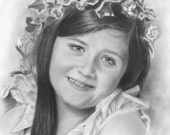 Museum Quality Pencil / Charcoal Portrait Drawing Sketch From Your Photograph 12X8 - Best Birthday Gift Idea