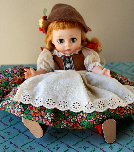 Vintage Madame Alexander Swiss Doll 8 Inch Collectible