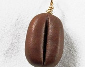 Coffee Bean Charm