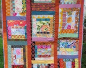 Patchwork Quilt Number Two - insanely colorful and somewhat random but delightful
