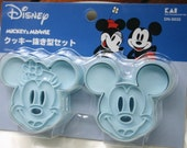 Mickey and Minnie Cookie cutters