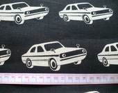 Echino fabric FQ yard car  printed