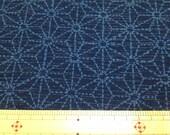 Japanese kimono cotton fabric Sashiko design 100cm x 95cm
