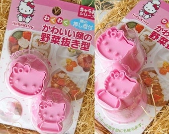 Hello Kitty  Cookie & Vegetable cutters