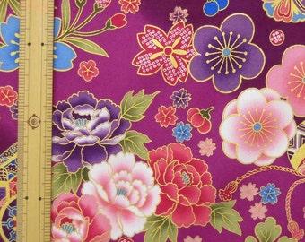 Japanese Kimono design fabric one yard