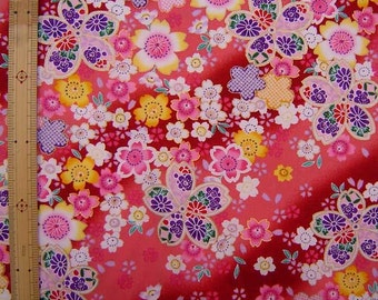 Japanese Kimono design fabric one yard