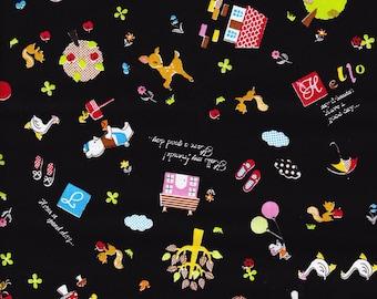 Cute kawaii japanese fabric half yard