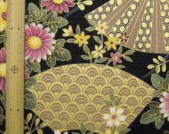 Sale Japanese kimono design fabric One yard