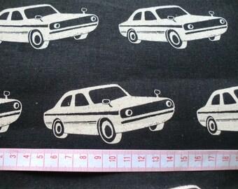 Echino fabric FQ yard car  printed